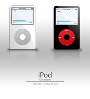 iPod Dock Icons by User-DA