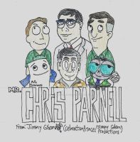 Chris Parnell Tribute by CelmationPrince