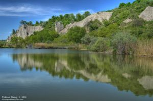 Cliff Reflection by tobiasgong