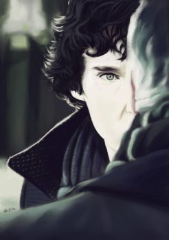 Sherlock (Study) by TeachingMyselfSpeed