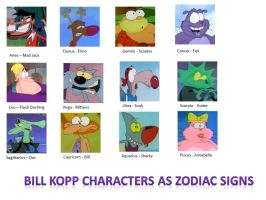 The Signs as Bill Kopp Characters by CanzetYote