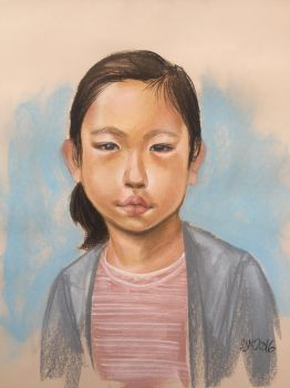 Little Asian girl  by mipatafria