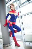 Captain Marvel : Stay Fly by y-o-s-s-i