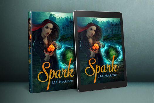 Spark Book Cover by sara-hel