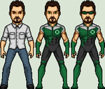Green Lantern Rob Slezak by SpiderTrekfan616