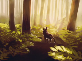 A Forest Friend by Limecrumble