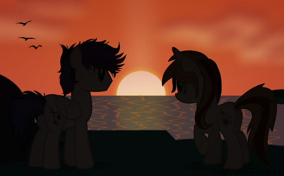 [Gift] Sunset of Love~ by LatvianMaster