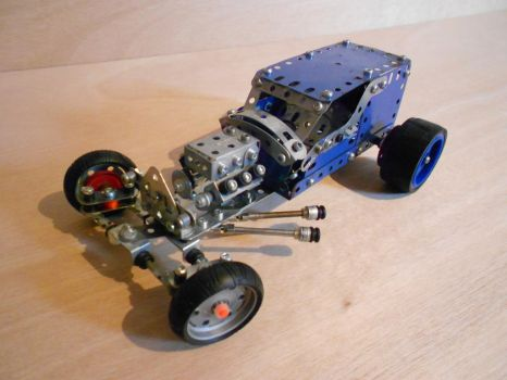 Meccano Hot Rod by Dixbit