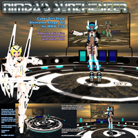 MMD Nimda's Synthesizer Stage Ver 1.0 by Trackdancer