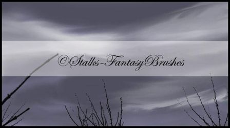 Stalk Brushes by FantasyBrushes