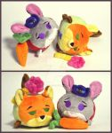 PLUSH TSUM ZOOTOPIA. by GingerAle2016