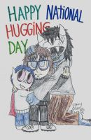 Happy National Hugging Day 2018! by CelmationPrince