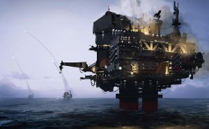Missile Oil Rig by Talros
