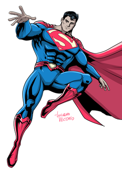 Superman 2017 by LucianoVecchio