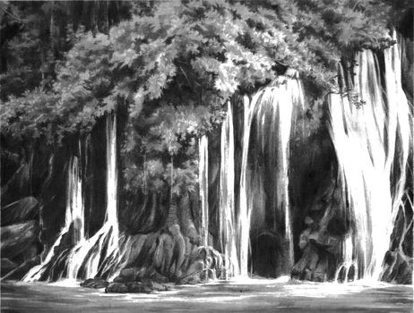 The Waterfall by Eluva