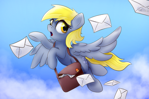 Derp Delivery (Derpyday2018) by K1emm