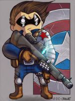 Winter Soldier COLORED by MARR-PHEOS