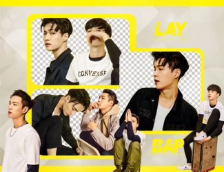 Pack Png #689 // Lay (EXO) by BEAPANDA