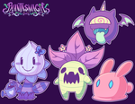 Phantasmagia - First Enemies by Kaibuzetta