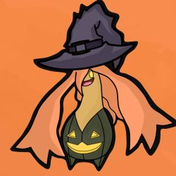 Gourgeist WitchHat Pic by RamdomDrawer