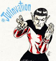 Julinvation2Spock by mrpulp-presenta