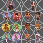 Voltron Acrylic Keychains PREORDER + Button Bonus by AF0456