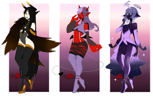 Random Monster Adopts (CLOSED) by RoseGotham