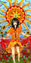 PN Tarot: XIX - The Sun by nitrou