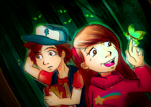 Gravity Falls by Cainmak