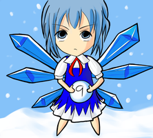 Cirno's Perfect Snowball by UItimate
