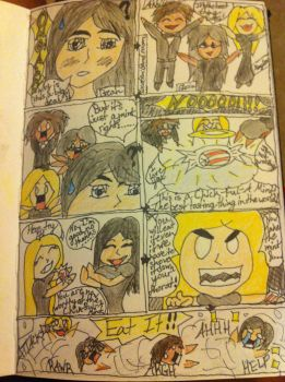 Chick-ful-A Mint Comic Part 1 by likes2have