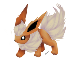 Request- Flareon by Nalenthi