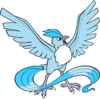Shiny Articuno Global Link Art by TrainerParshen
