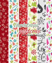 Christmas Patterns (sistaroundpsds) by arryastark