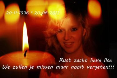 R.I.P Ilse de graaf. by dutchdrawer22