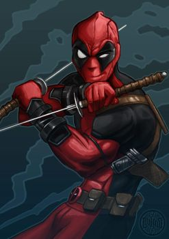 Deadpool by foreest83