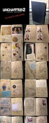 Uncharted Drake's Journal replica by PReilly