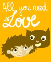 All you need is love by Lapaka