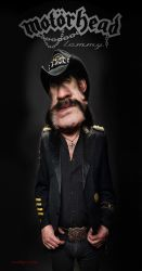 Lemmy Kilmister of Motorhead - A Tribute by RodneyPike