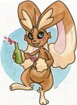 Frosting the Lopunny by owlburrow
