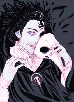 A Mad Raven by chibilou