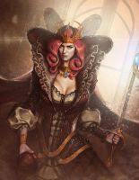 Sorceress by drawinguy