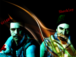 Griggs and Sheckley by NeekoL4D