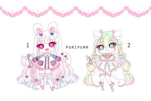 [CLOSED] Adoptable 116 - YANDERE (ANIMATED) by Puripurr