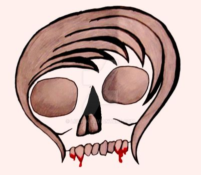 Emo Scull by Liiilith