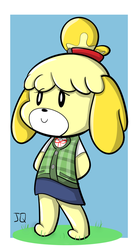 Isabelle isadoodle by Vinyl-CoRe