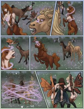 Fairy Trouble - Horse Tf Comic Commission - Page 6 by Janexas
