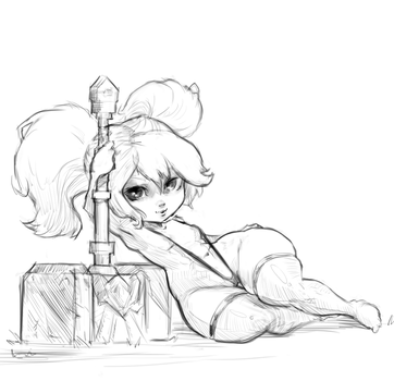 Poppy doodle by cutesexyrobutts