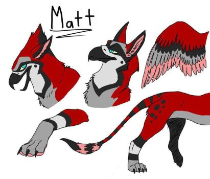 [F] Matt the Gryphom by Coraiden
