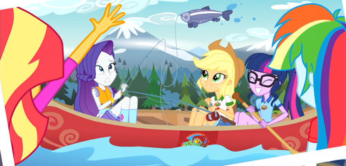 MLP EQG Legend of the Everfree Moments 21 by Wakko2010